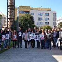 Colectivos e autoridades na presentación do programa do Entroido 2019